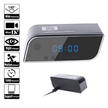 Mini Camera 1080 Full HD Clock Night Vision Motion Detection Wifi IP Cam DV DVR Camcorder