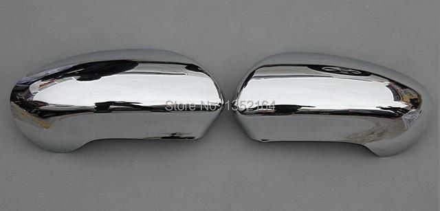 Car rear view mirror cover, side mirror cap for nissan qashqai 2010-2013,ABS chrome,2pc/lot,free shipping