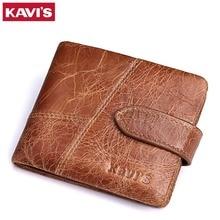 Nová 100% kožená pánská peněženka