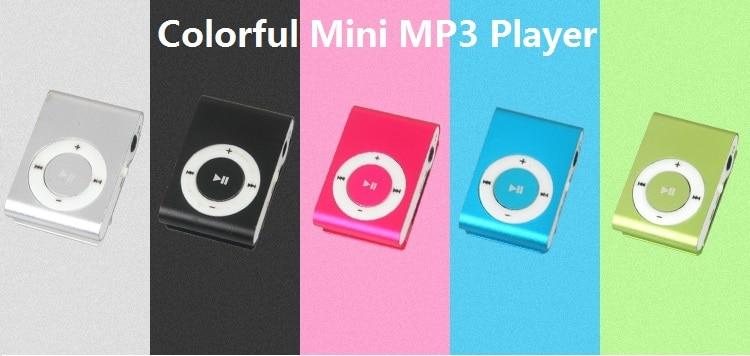 Hifi-geräte Unterhaltungselektronik Streng 1 StÜcke Neue Tragbare Mp3-player Mini Clip Mp3 Player Wasserdichte Sport Mp3-player Walkman Attraktiv Und Langlebig
