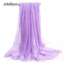 Long Fashion 10pcs/lot 50*160cm Print Floral Chains Polyester Scarf