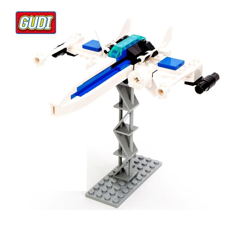 GUDI Earth Border Star War Educational Building Blocks Toys For Children Kids Gifts Robot Compatible with Legoe