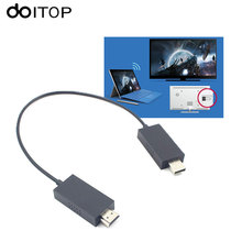 DOITOP For Microsoft Wireless Display Adapter Wireless Audio Video Extender Cable Share Smartphone/Laptop/Tablet to HDMI HD TV