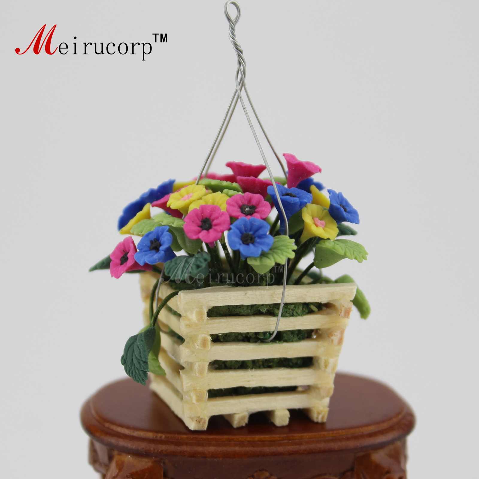 Dollhouse Miniature Woven Basket 1:12 Miniature Mexican Import #B126 1