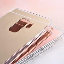 For Samsung Galaxy A6 2018 Case Samsung A6 Plus 2018 Case Fashion Mirror Silicon TPU Back Cover For Samsung Galaxy A6 2018 A600F цена и фото