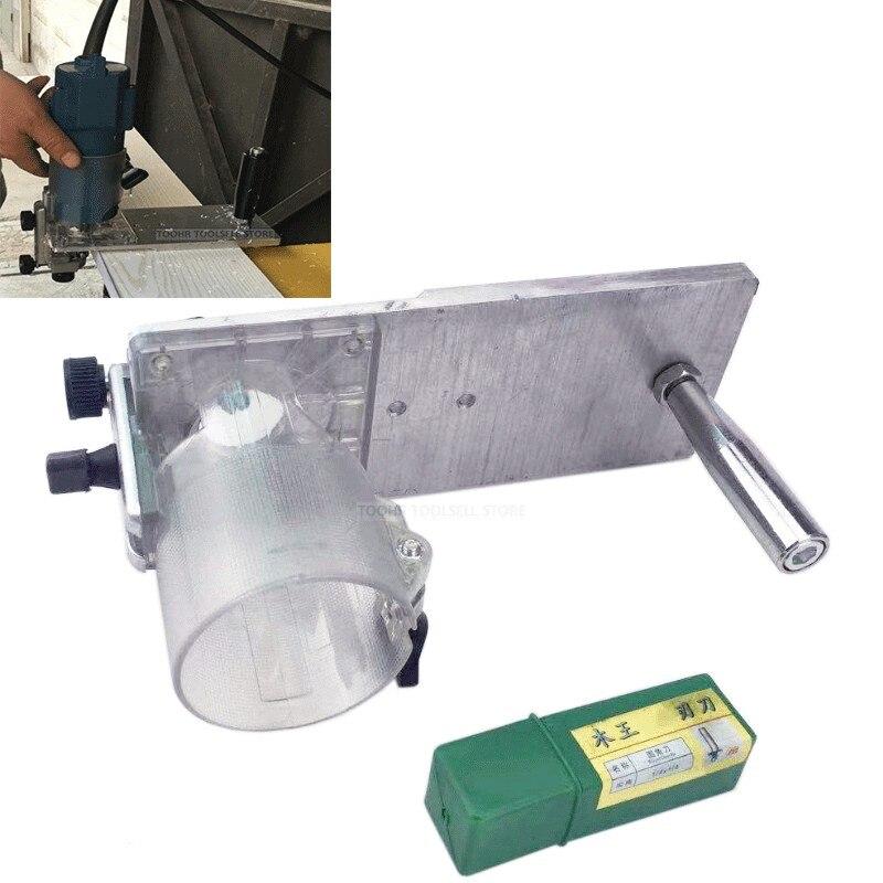 Für Aluminium Router Tisch Insert Platte Holz Router Trimmer für Holzbearbeitung Bänke Gravur Maschine Zubehör