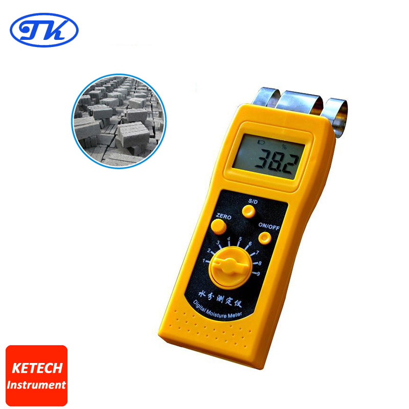 NEW DM200C Small in Size and Light in Weight Digital Concrete Moisture Meter Tester mc 7806 digital moisture analyzer price with pin type cotton paper building tobacco moisture meter