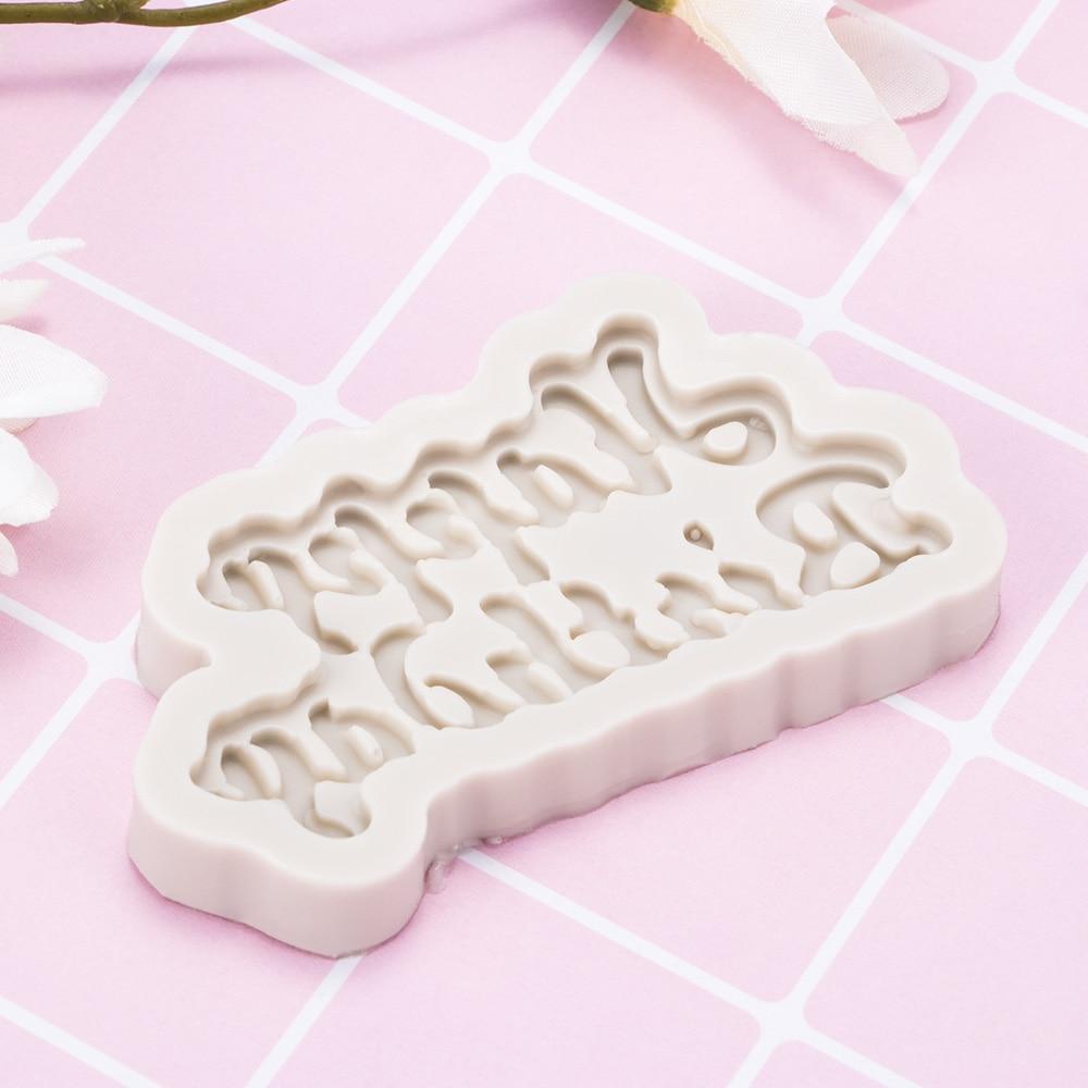 3D Silicone Fondant Mold Chocolate Cake Decorating Sugarcraft Baking Mould Tool