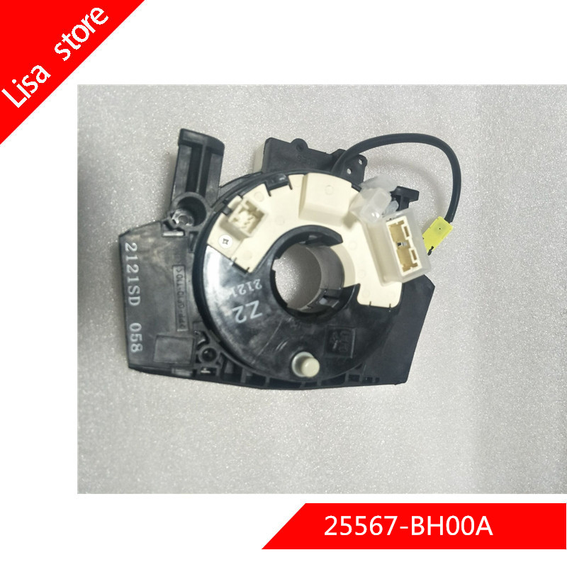 25567 BH00A high quailty combination switch coil for Nissan NV200 M20M for nissan tiida 25567BH00A