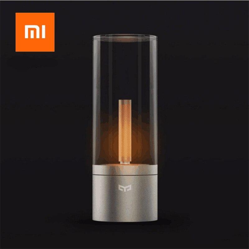 Original Xiaomi Smart Candela lumière intérieure nuit lumière lampe de chevet LED à distance tactile intelligent App contrôle romantique datant lumière