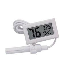 20 قطعة/الوحدة LCD الرقمية البسيطة ميزان الحرارة الرطوبة تستر الرطوبة درجة الحرارة مقياس درجة الحرارة متر رصد الإلكترونية