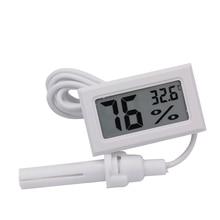 20 Stks/partij Lcd Digitale Mini Thermometer Vochtigheid Tester Hygrometer Temp Gauge Temperatuur Meter Monitor Elektronische