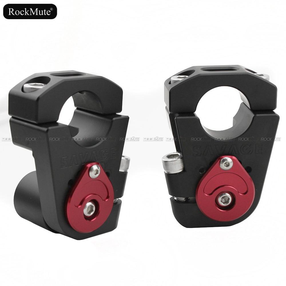 Moto 28mm Guidon Riser Pour KTM 790 Duke 690 Enduro R/SMC-R/DUC 990/1050/ 1190 ADV Intensifient Bar Clamp Adaptateur Réglable