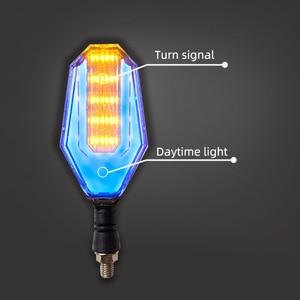 Image 4 - 2PCS Motorcycle Turn Signals LED Flashing Lights Universal Waterproof Tail Light Blinkers Brake Stop Signal Lamp for MSX 125