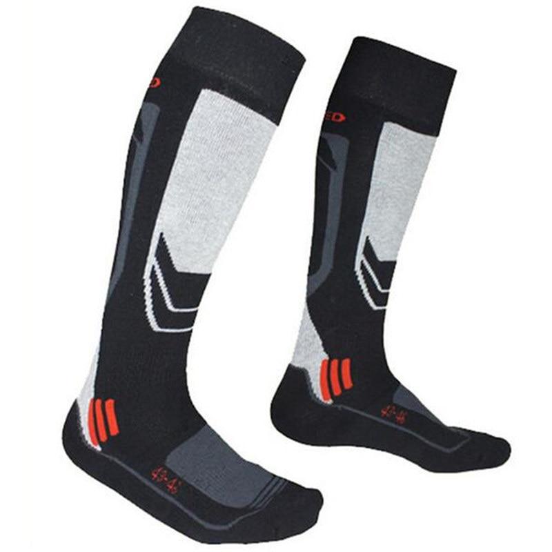 Winter Warm Men Thermal Ski Socks Thick Cotton Sports Snowboard Cycling Skiing Soccer Socks Leg Warmers Sports Top Quality Sock