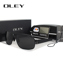 OLEY Polarized Men's Sunglasses Brand Designer UV400 Protect Sun Glasses Men spectacles fishing Accessories homens