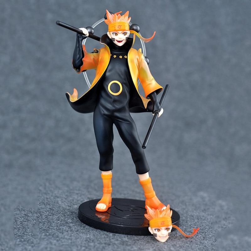 ФОТО Anime Naruto Shippuden Ootutuki Hagoromo Uzumaki Naruto 1/7 Scale PVC Action Figure Collectible Model Kids Toys Doll 22cm