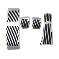 Foot Rest Fuel Brake Gas Pedal Covers Sticke AT MT Pedals For BMW 1 3 Series