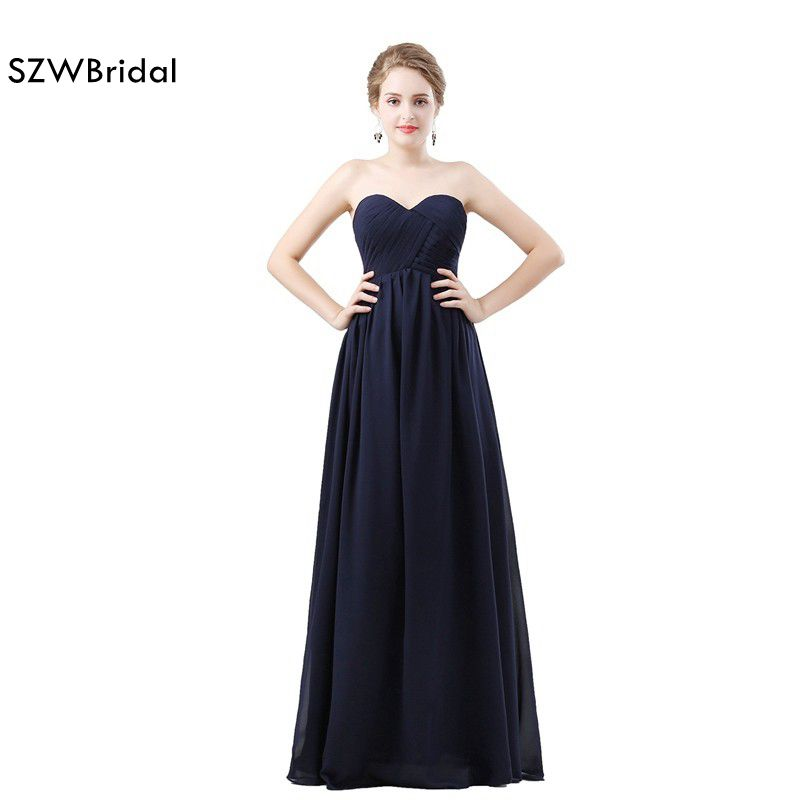 New Arrival Chiffon Adult   Bridesmaid     Dresses   2019 Vestido longo Cheap   bridesmaid     dress   robe demoiselle d'honneur