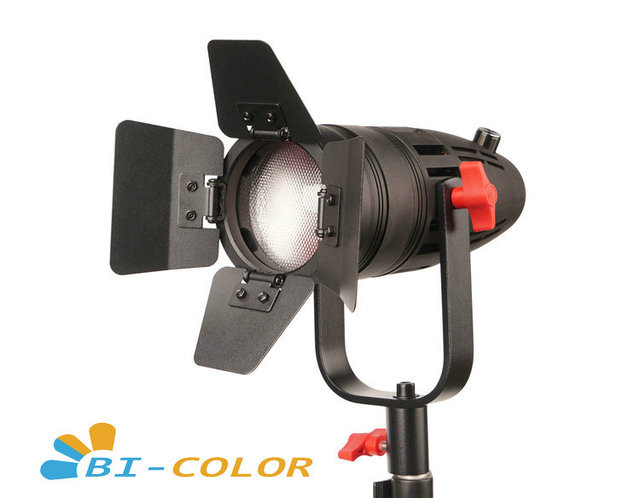1 Pc CAME TV Boltzen 30w Fresnel Fanless Fokussierbare LED Bi Farbe Mit Tasche Led video licht