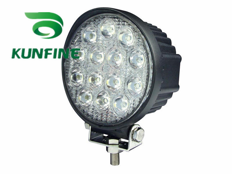 4.5inch 42W LED Work Light 12V~30V DC LED Driving Offroad Light For Boat Truck Trailer SUV ATV LED Fog Light Waterproof 1pcs 120w 12 12v 24v led light bar spot flood combo beam led work light offroad led driving lamp for suv atv utv wagon 4wd 4x4