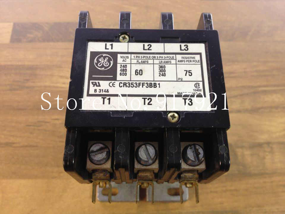 [ZOB] GE CR353FF3BB1 220V 60A 55-B38B America general contactor to ensure genuine nce60h15 60a 150v to 220