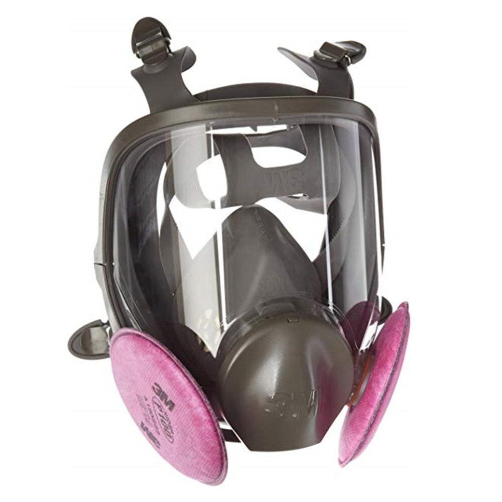 3 M 6800 masque respiratoire moule remédiation respirateur Kit moyen comprend deux paires de 3 M filtres à particules 2097