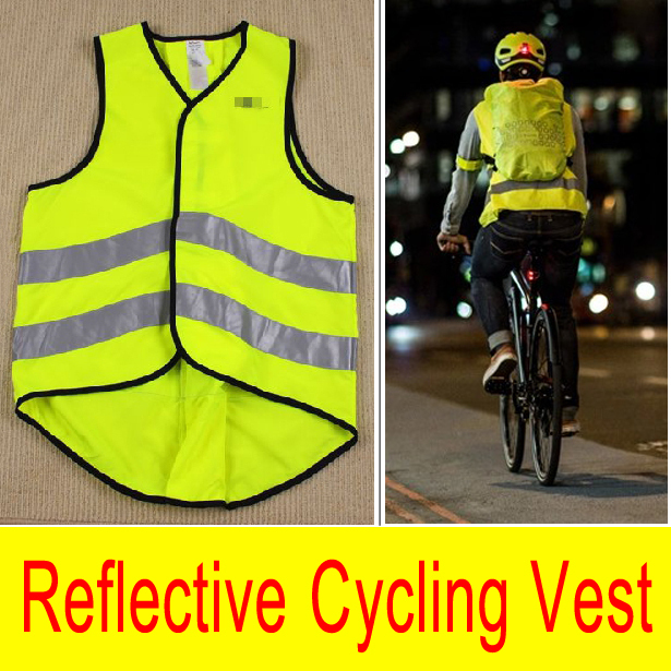 Brand New Night Fluorescent Cycling Vest Reflective Jersey Road Bike