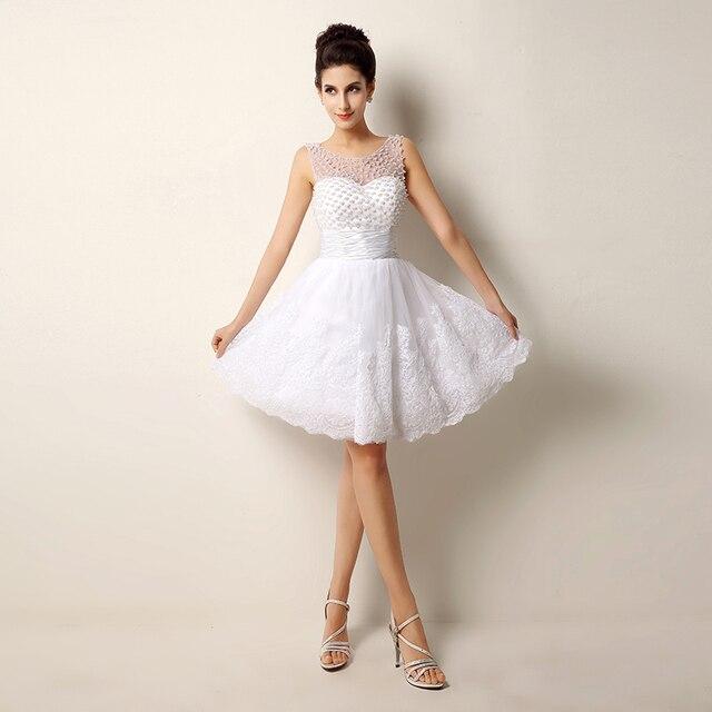 Vestidos blancos cortos en venta