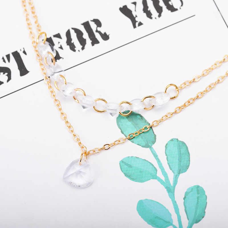 Proste mody złota bransoletka nieskończoność bransoletka łańcuch niewolnika Link ręcznie uprząż bransoletki palec koło moda biżuteria