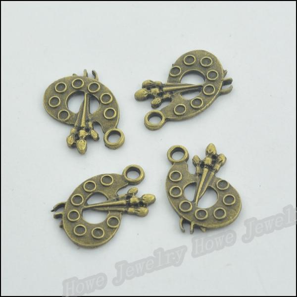 wholesale 15//60pcs  Retro Style alloy ancient silver horseshoe Charm pendant
