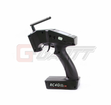 RadioLink RC4G 2.4G 4CH Gun Controller Transmitter R4EH-G Gyro Inside Receiver for RC Car Boat