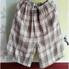 Shorts Pants Men Summer cotton Pants Men Lounge Sleep Bottoms Short letter Double pocket