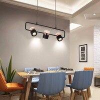 Ganeed Современные подвесной светодиодный светильник осветительная арматура, 3 свет Кухня Остров Кулон для подвал Дайнин
