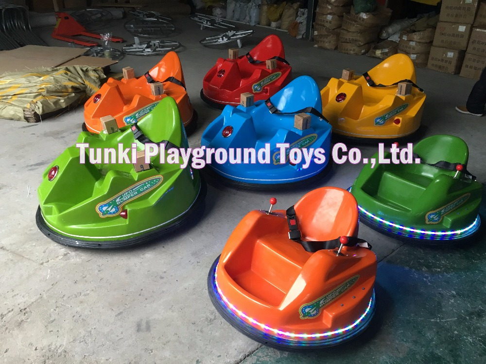 Cheap Backyard Game Rides Adult Bumper Car For Amusement