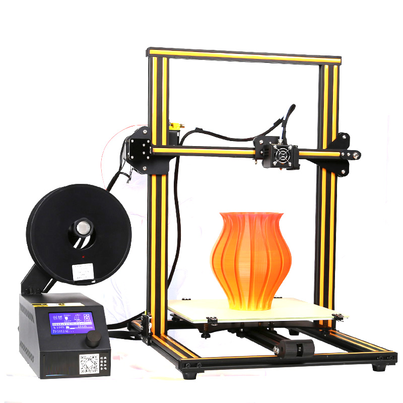 DIY High Precision 0.1mm 3D Printer 500*500*500mm Large Printing Size Portable Desktop Industrial Grade 3D Printer FDM PLA portable cr 7 mini 3d printer fdm lcd off line printing self assembly diy kit lightweight for artistic design free shipping