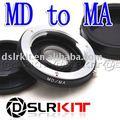 Lens Adapter Ring for Minolta MD MC Lens for Minolta MA Mount Adapter