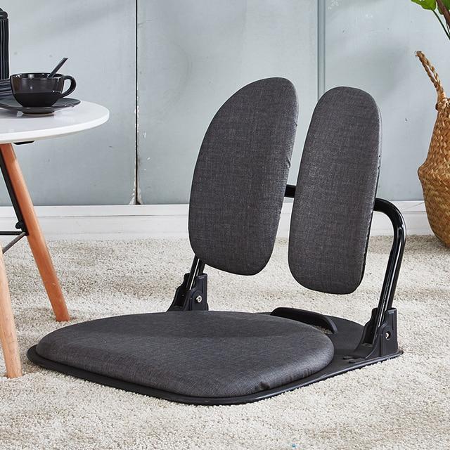 folding chair for living room ivory dining chairs uk smart tatami ergonomic comfort legless floor zaisu compact seat furniture relax leisure foldable