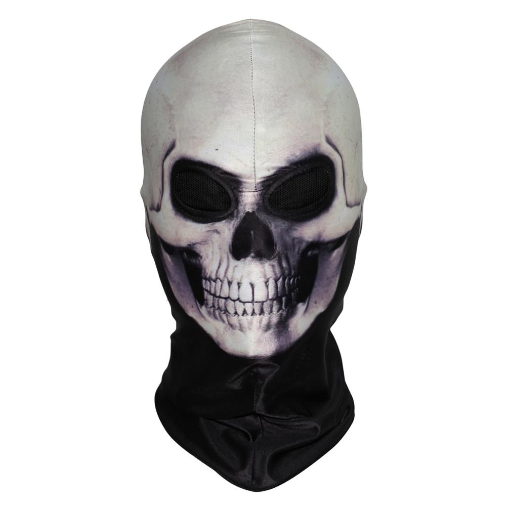 Online Shop Ghost Rider Flame Skeleton Balaclava Face Mask Skull ...