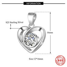 luxurious 925 sterling silver cubic zirconia necklace pendant connector necklace accessories diy necklace making mix wholesale(China)