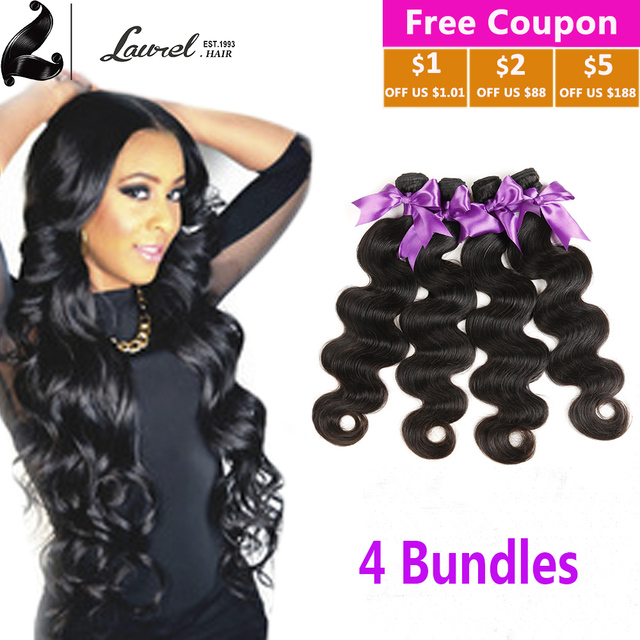 Laurel Virgin Hair Products Hot 7A Indian Body Wave Cheap 3 Bundle Hair  Deals Deep Wavy The Best Indian Hair Store On Aliexpress 496afe6d833c
