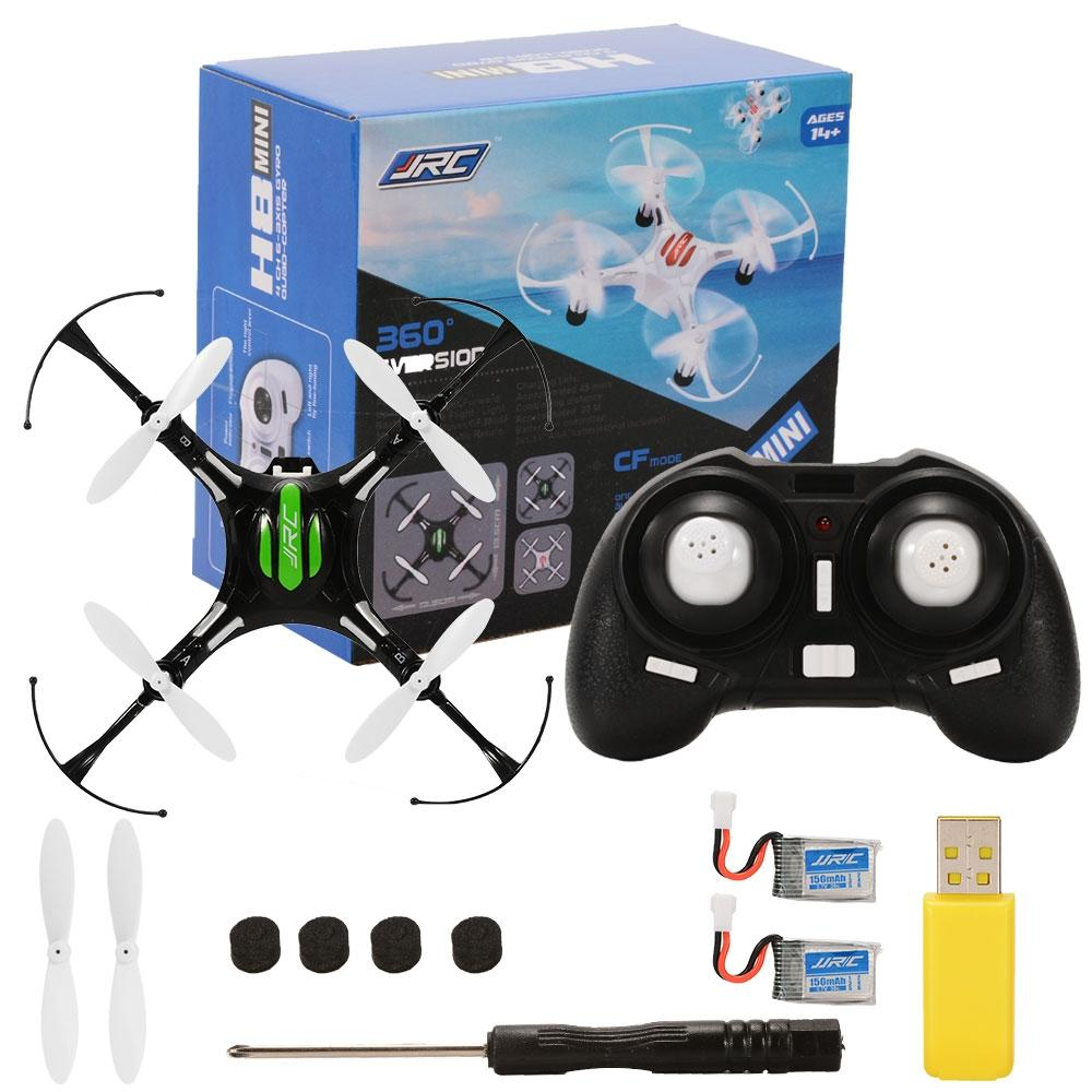 LeadingStar 2.4GHz 4 Channel 6-Axis Gyro Drone with Headless Mode One Key Auto-Return Quadcopter RC Quadcopter Black&White zk30