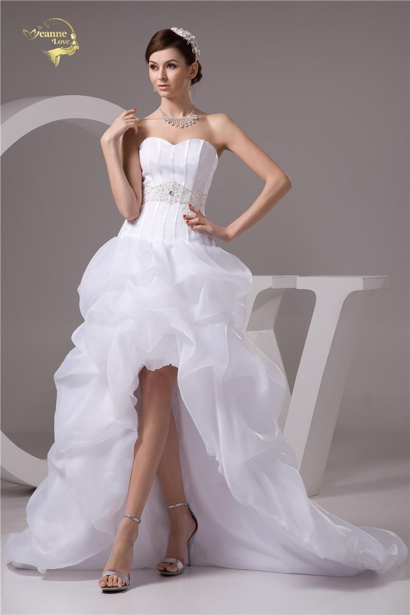 Naujos atvykimo baltos 2016 vestuvių suknelės Sweetheart A Line - Vestuvių suknelės