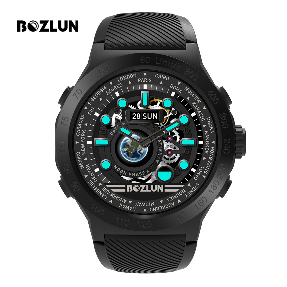 Bozlun Smart Watch Men IP68 Waterproof Activity Tracker Bluetooth Smartwatch Call Reminder Heart Rate Pedometer Watches W31