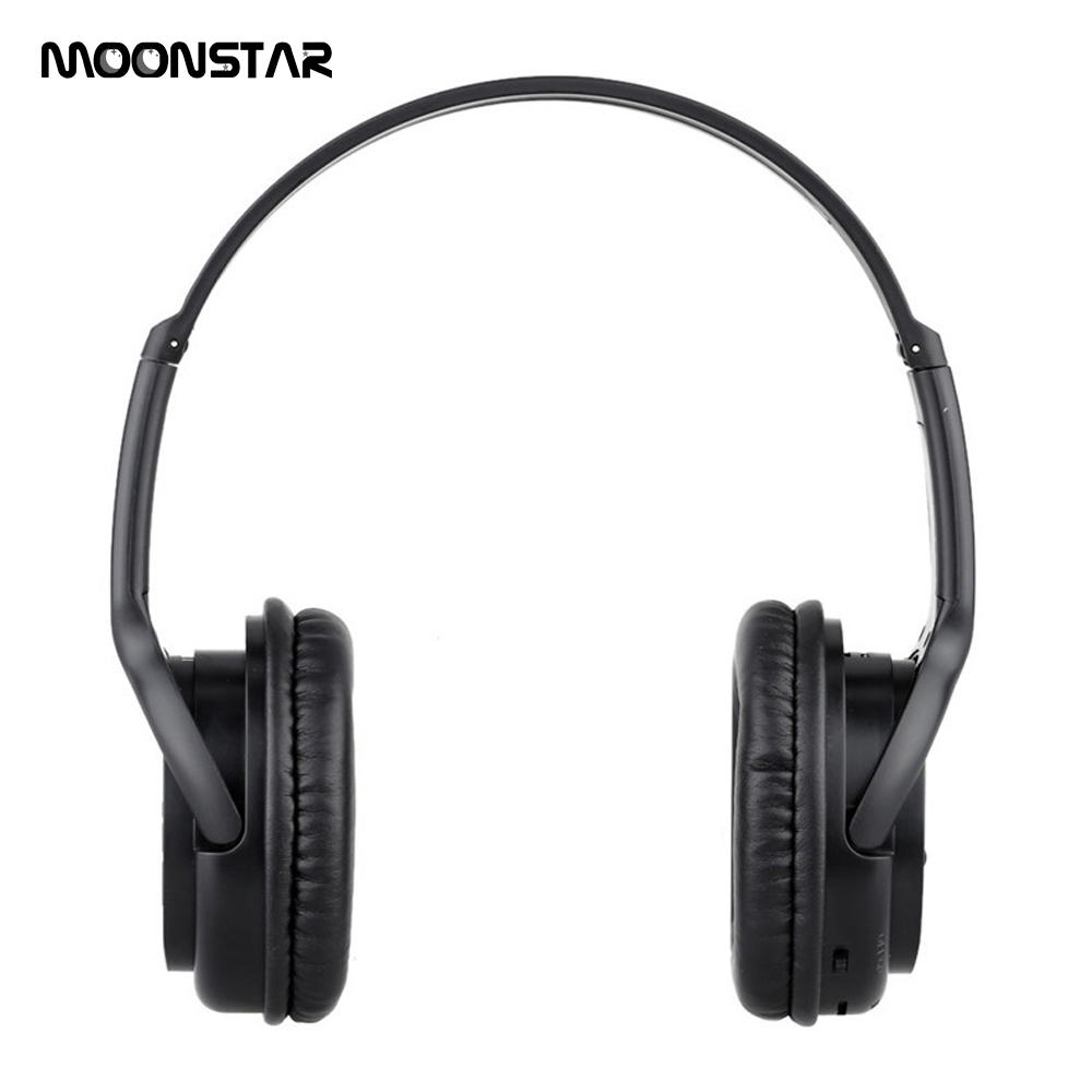 MOONSTAR Wireless Headsets Bluetooth 3.0 Headphones Auriculares Stereo with Microphone SD Card Slot for MP3 Cellphones Laptop ks 508 mp3 player stereo headset headphones w tf card slot fm black