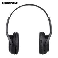MOONSTAR Wireless Headsets Bluetooth 3 0 Headphones Auriculares Stereo With Microphone SD Card Slot For MP3