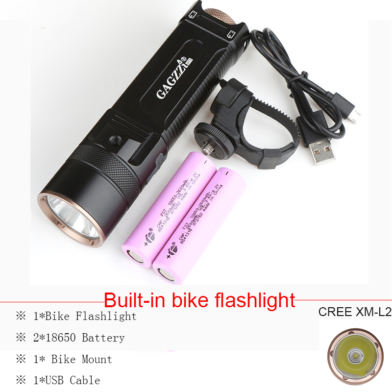 2016 Newest Flashlight LED CREE XM-L2 Flash Light 4-Mode Torch Bike Bicycle Light Outdoor Lighting +18650 Battery +Mount Holder 2017 newest flashlight led cree xm l2 flash light 4 mode torch bike bicycle light outdoor lighting 18650 battery mount holder