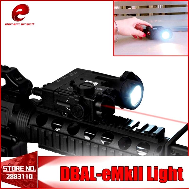 Element Airsoft Tactical Flashlight DBAL-EMKII IR Laser Led Torch Multifunction IR Laser Illuminator DBAL-D2 Weapon Lights EX328