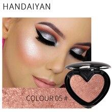 HANDAIYAN Highlighter Bronzer Iluminador Face Contour Powder Bronzers Highligh Shimmer High Lighter Makeup Palette Cosmetic