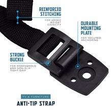 baby safety Anti-Tip Straps for Flat TV and Furniture wall strap child lock Protection from children,Products for children